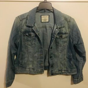 Sonoma Light Wash Denim Jacket